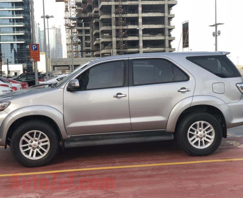 Toyota Fortuner 2015 own by lady with premium insurance