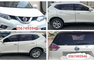 NISSAN XTRAIL 2015 4 WD WHITE GCC SPEC WELL MAINTAINED