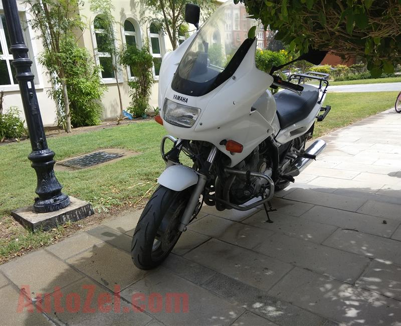 Yamaha XJ Police Version 2002 Model 74k milage - Shaft Drive