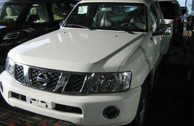 NISSAN PATROL SAFARI PICK-UP -- FULL OPTION -- ZERO...