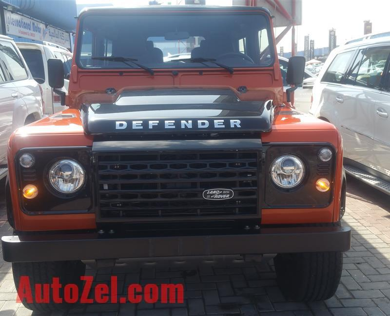2016 LAND ROVER DEFENDER- 6,000 KM
